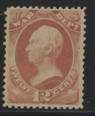 US O119 - mh or regum - 12 cents War Department