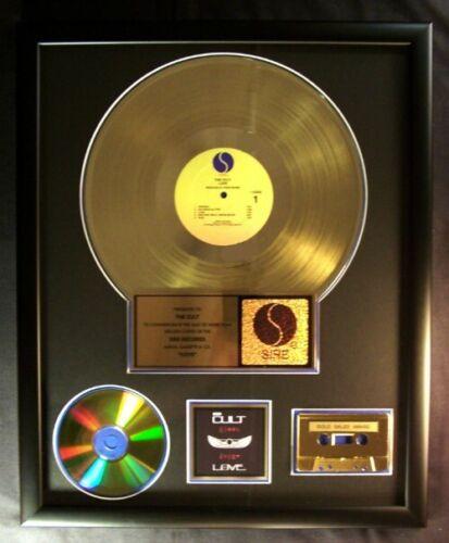 The Cult Love LP Cassette & CD Gold Non RIAA Record Award Sire Records