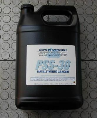 1 Gallon Of Pss-30 Partial Synthetic Reciprocating Air Compressor Lubricant Oil