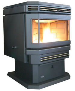 EnviroFire EF-III Pellet Stove & Vertical Double Insulated Pipe