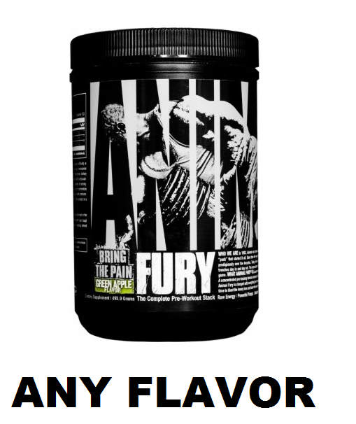 Universal Nutrition Animal Fury Pre Workout - 30 Serving ...