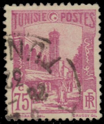 "TUNISIA 93 (Mi134) - Tunis Mosque ""1928 Lilac Rose"" (pa38149)"