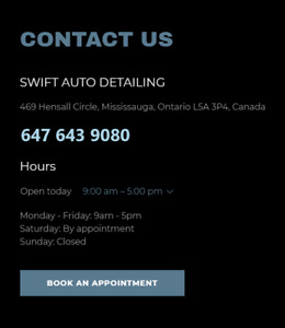 CAR DETAILING PROFESSIONALLY DONE & REASONABLY PRICED!