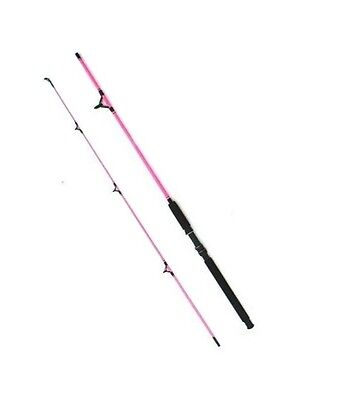 Girls Pink Fishing Rod. 7 ft 2 Sections. Great for spinning or general use #
