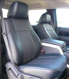 CAR LEATHER SEATCOVERS FOR FORD GALAXY VAUXHALL ZAFIRA PEUGEOT 5008 SEAT ALHAMBRA C4 GRAND PICASSO