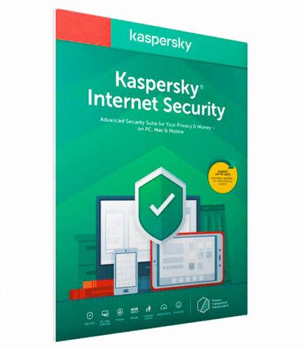 KASPERSKY INTERNET SECURITY  2020 1 DEVICE PC 2 YEAR LICENSE (GLOBAL KEY)