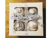 Newborn baby shower cupcake gift set boy/girl