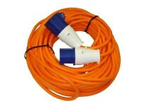 Mains Hook Up Cable 25m Heavy Duty New Unused EHU