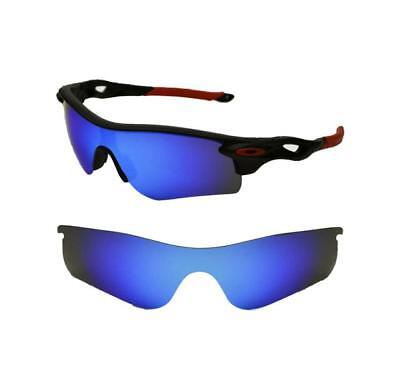 New 100% Uva & Uvb Polarized Blau Custom Linsen für Oakley Radarlock
