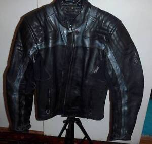 Leather Motorcycle Jacket, Women's Size 12 Petersham Marrickville Area Preview