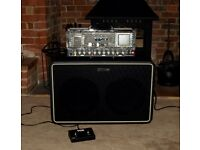 Vox Night Train NT50-G1 Guitar Amp Head plus V212NT-G1 Speaker Cabinet with VFS2A Footswitch