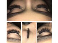 Semi permanent 3D Russian eyelashes amazing offer for first 20 clients £30