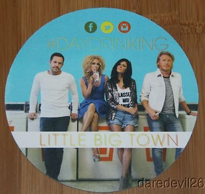 2014 LITTLE BIG TOWN #DayDrinking CMA Music Festival Promo Card