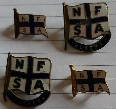 National Federation Sea Angler Badges Weddex Southern Nfsa Affiliated Fishing...