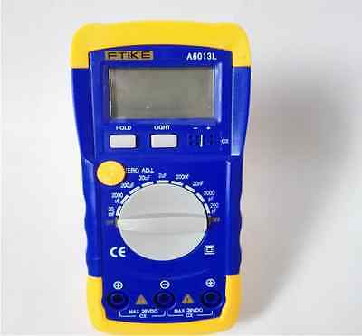 A6243l Digital Lcd Capacitance Inductance Lcr Meter Tester Multimeter 200f 20h