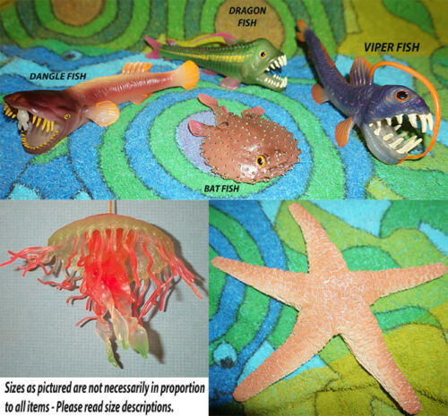 Sea Creature Replicas - Rubber