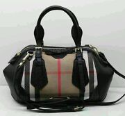Burberry Haymarket Bag