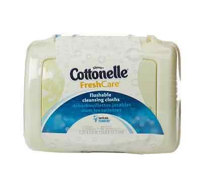 Cottonelle Fresh Flushable Moist Wipes Pop-Up Tub 42 Each