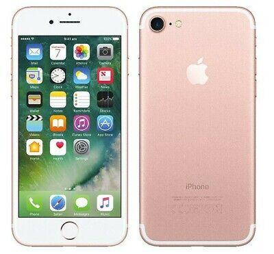 Apple iPhone 7 - 32GB - Rose Gold- Fully Unlocked