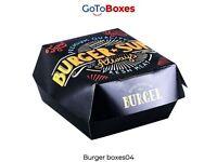 Get Best Discounts deals on Burger Boxes