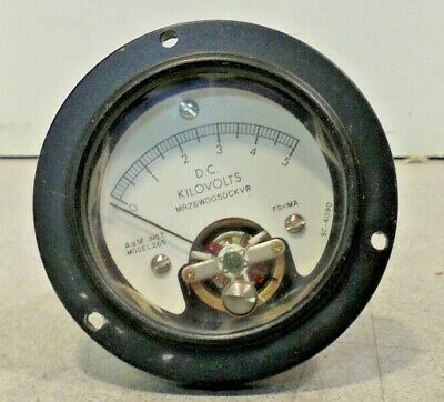 A M Inst. D.c. Kilovolts Meter Model 265