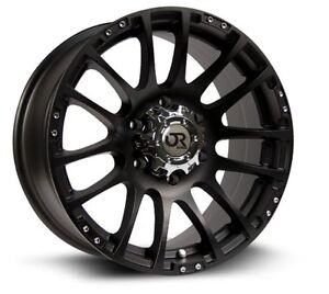 Roues (Mags) RTX Off Road Nomad noir mat 17'' 5-139.7