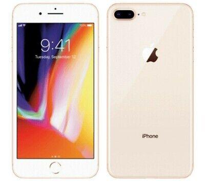 Apple iPhone 8 Plus 256GB Gold Unlocked Excellent