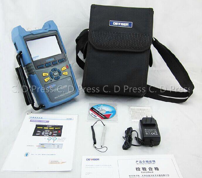 New AE2300H Otdr Multi Field Tester 1310/1550nm 36/24dB