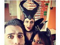 Halloween Malificent Hat-horns