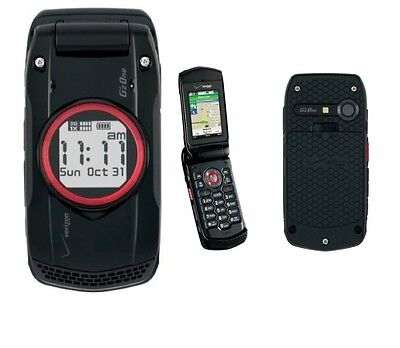 Casio GzOne Ravine C751 Flip Cell Phone For Page Plus Selectel Red Pocket Mobile