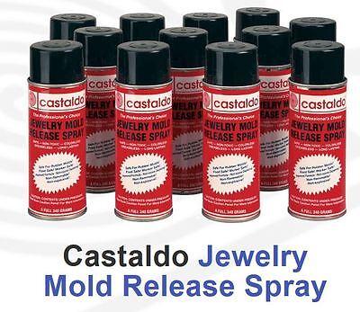 CASTALDO JEWELRY MOLD RELEASE PROFESSIONAL 18 OZ EASY SPRAY CAN CASTING TOOLS ()