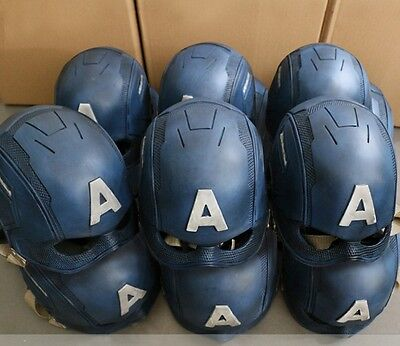 New Captain America Helmet for 2016 Avengers Marvel's Civil War Cosplay FANMADE