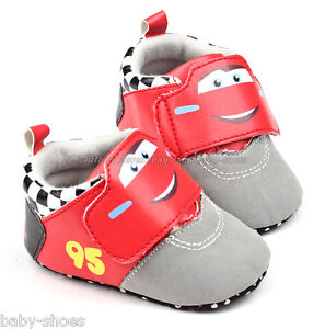 Toddler Baby Boy Cars Walking Shoes Sneakers Size 0 6 6 12