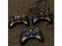 Xbox 360 control pads controllers