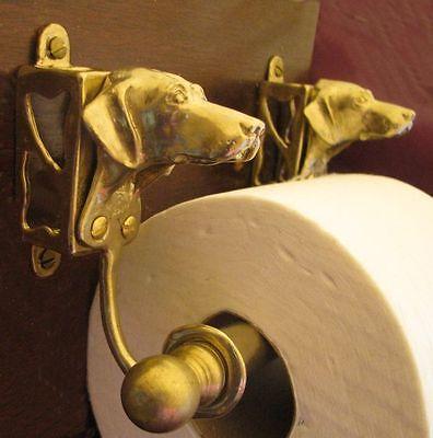 VIZSLA Bronze Toilet Paper Holder OR Paper Towel Holder!
