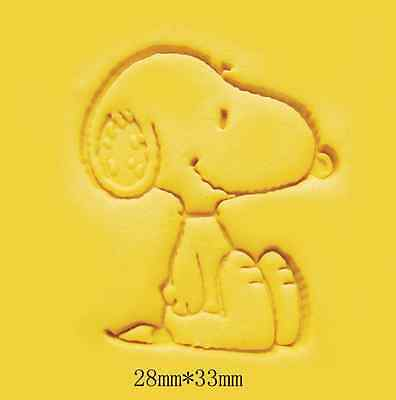 Cute Dog Handmade Resin Soap Stamp Seal Soap Mold Mould 24x33mm YZ