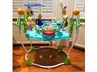 Disney Baby Bright Starts Sea of Activities Jumper Jumperoo Bouncer