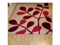 NEXT rug - must go Red and White