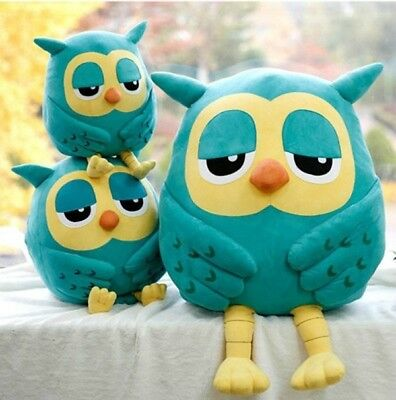 Cotton Plush Owl Cute Stuffed Soft Plush Toy Doll Pillow Children Birthday Gift (Owl Pillow Stuffed Owl)