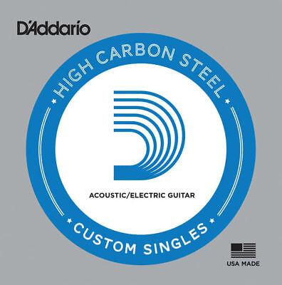 D'Addario PL0085 Plain Steel Guitar Single String .0085