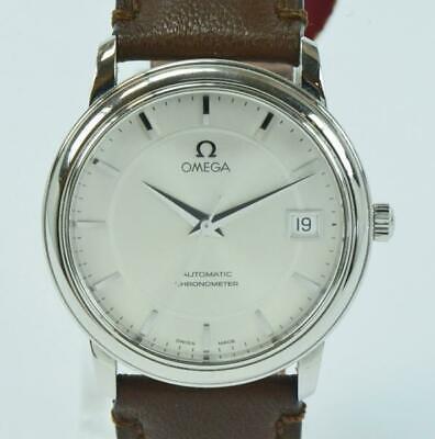 OMEGA De Ville automatic Chronometer Edelstahl Herrenuhr um 2000 D. 34,7mm ()