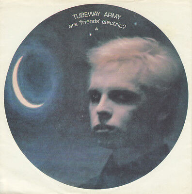 """Tubeway Army - Are 'Friends' Electric?, 7"""", Single, Wit, (Vinyl)"""