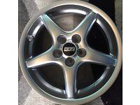 4 new genuine bbs alloys