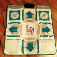 Wii dance mat and dvd game-excellent condition
