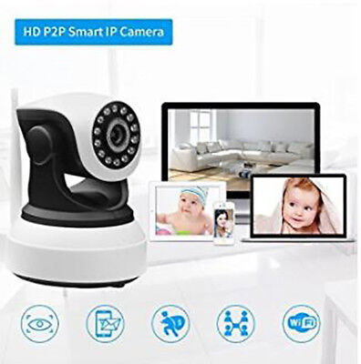 720P 1MP Wifi IP Wireless Surveillance Camera Remote Cam For