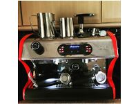 La Spaziale S1 coffee machine + automatic grinder + accessories £600