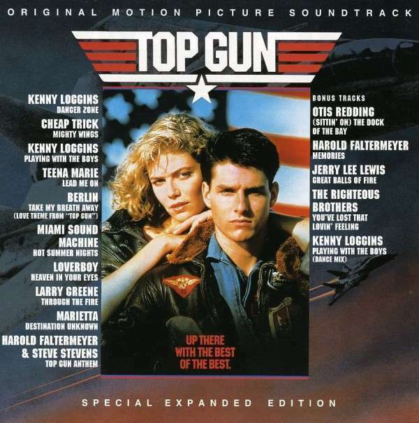 Top Gun Expanded Edition O.S.T. Original Soundtrack Filmmusik CD COLUMBIA