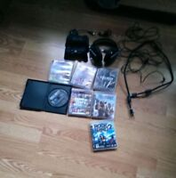 160$ firm Ps3 , gaming head set, 2 controller, & games