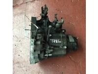 RENAULT MEGANE SCENIC MKII GEARBOX 2003-2008 1.5 DCI JR5 103 STARTER MOTOR AT THE REAR