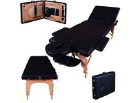 Massage waxing bed